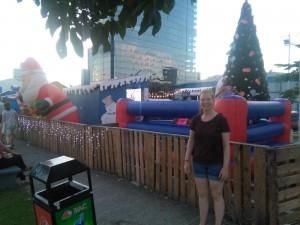 Weihnachtsmarkt in Panama City