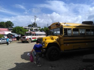 Chickenbusse in Rivas Nicaragua