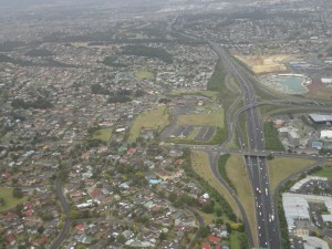 Auckland von Oben
