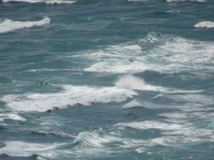 Tasmanisches Meer und Pazifischer Ozean treffen sich