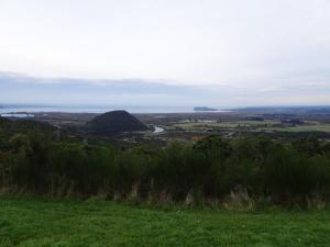 Aussicht auf Lake Taupo von Turangi aus