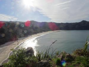New Chumbs Beach von Oben