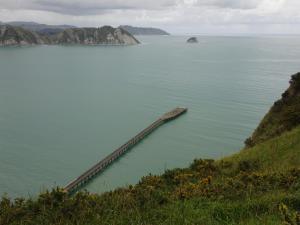 Tolega Bay Wharf, Neuseelands längste Pier