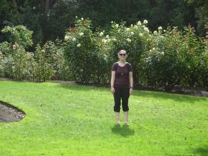 Rosegarden in Hamilton Gardens