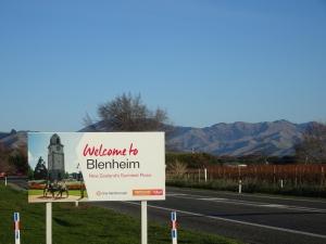 Willkommen in Blenheim