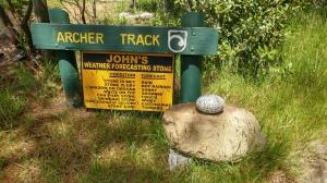 Archer Track Wettervorhersage