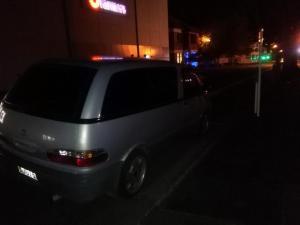 Auto bei Nacht