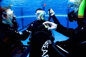 Übungen im Wasser